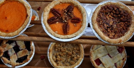 Pies from Simply Soulful at Madrona Farmers Market. Copyright Zachary D. Lyons.